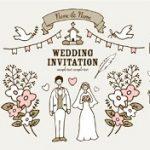 結婚式 招待状 手作り