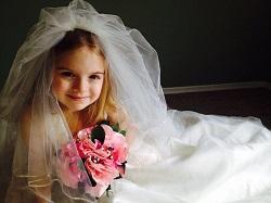 女の子 結婚式