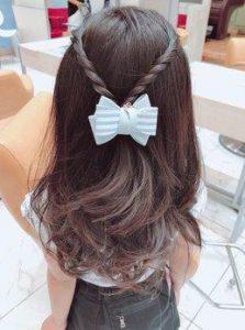 小学生 女子 髪型 おしゃれ