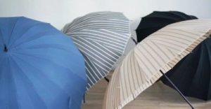 シルクの傘 晴雨兼用