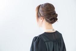 髪型 アップスタイル
