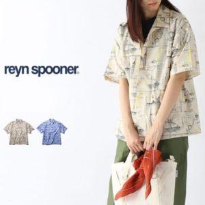 Reyn Spooner アロハシャツ 女性