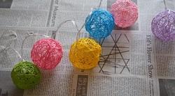 コットンボールライト 電飾