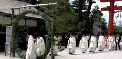 茅の輪くぐり 神社