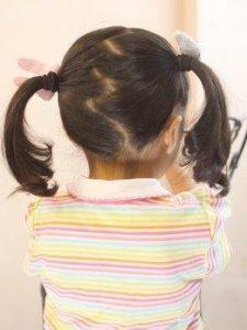 小学生 女子 髪型 ミディアム ツインテール