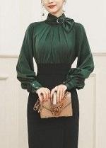 ドレス 長袖