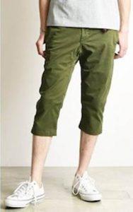 メンズ ファッション ロングショートパンツ