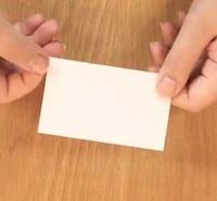 名刺サイズ シンプルカード