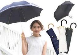 防水加工 晴雨兼用 折りたたみ日傘