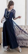 ロングドレス 60代