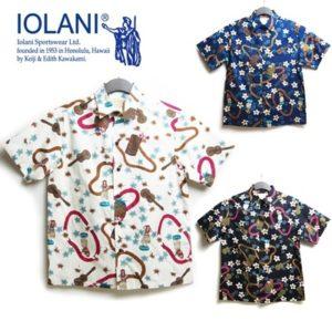 IOLANI アロハシャツ メンズ
