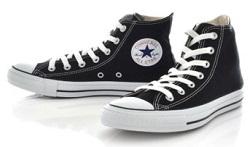 コンバース 靴 黒
