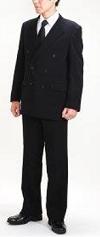 平服 スーツ 黒