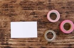 ポストカード マスキングテープ