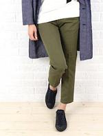 ズボンスタイル スニーカー ロングカーディガン 女性