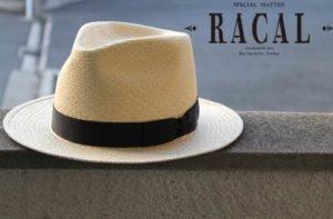 麦わら帽子 RACAL