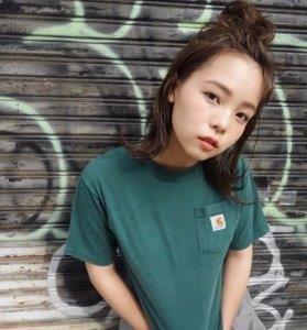 小学生 女子 髪型 ショート お団子
