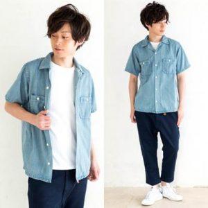 メンズ ファッション tシャツ 羽織シャツ