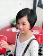 女の子 ショートヘア