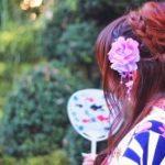 浴衣髪型ロング!簡単アレンジとやり方【三つ編み・編み込み・お団子】