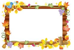 ボード 秋のイメージ イラスト