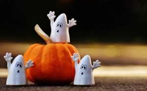 クレイアート ハロウィン かぼちゃ おばけ