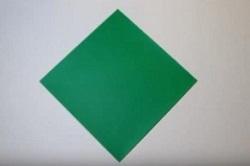 折り紙 緑