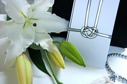 香典 ユリの花