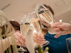 結婚式 乾杯