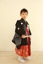 七五三 袴を着た男の子