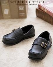 フォーマル 黒の革靴 男の子用