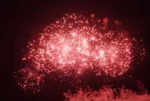 夏の夜空 花火