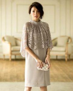 結婚式 披露宴 女性 服装 30代 ドレス レース