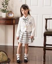 白ジャケット スカートスーツ