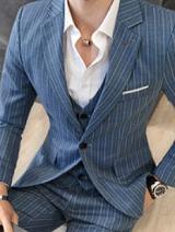 スーツ ストライプ