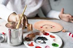 手作り 絵の具