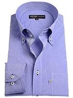 ブルー色 シャツ