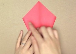 裏返し 折り紙