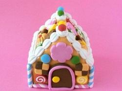 可愛い お菓子の家 手作り