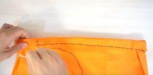 かボチャ 布 手縫い