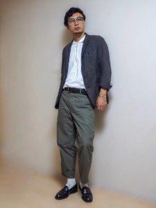 男性 秋コーデ