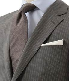 グレー スーツ 男性