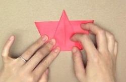 赤 折り紙
