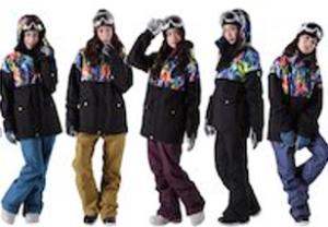 スキーウェア レディース