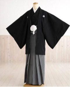 黒の袴 メンズ