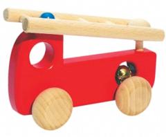 木 消防車