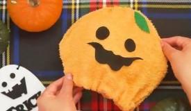 かぼちゃ ハロウィン フェルト