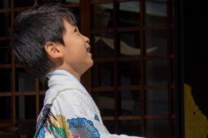 七五三 袴の男の子