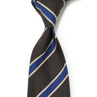 ネクタイ ブルーのストライプ