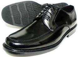 ブラックレザー 靴 メンズ